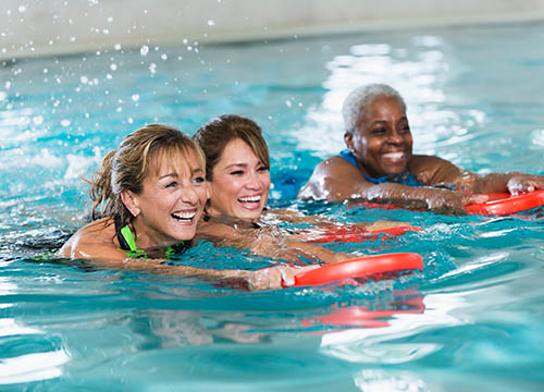 Adult swimming lessons Penlan Leisure Centre, Swansea