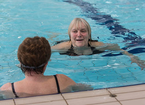 adult swimming lessons @ morriston leisure centre