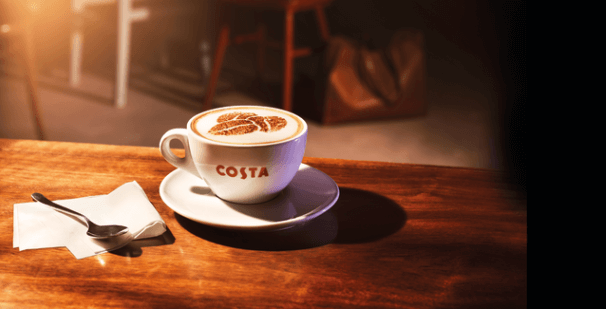 NEW Costa Coffee at Hudson Leisure Centre