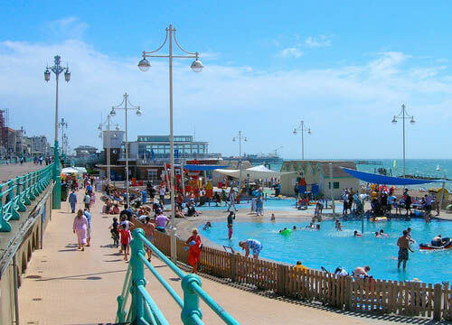 Image of Brighton & Hove Paddling Pools & water feature