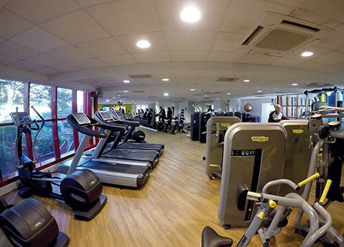 Gym at Malvern Splash