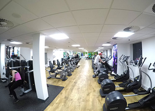 Perdiswell Leisure Centre, Worcester, Gym