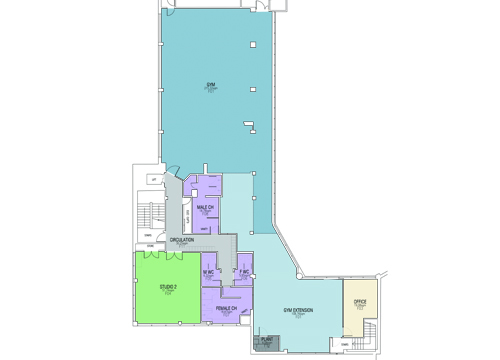 Plans of first floor refurbishment