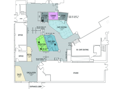 Plans of ground floor refurbishment