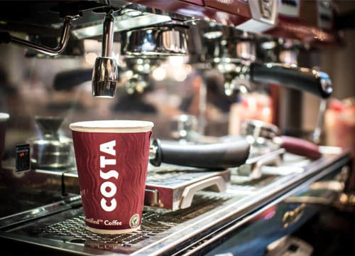 costa hot drinks to have in or take away
