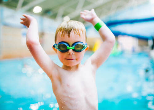 Crash course swimming at Freedom Leisure