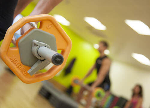 Body Pump classes at Crowborough leisure centre