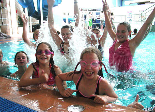 birthday parties at Crowborough Leisure Centre