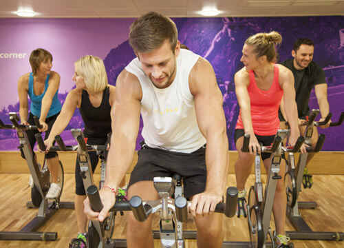 Les Mills RPM indoor cycling launching at Freedom leisure Milton Keynes