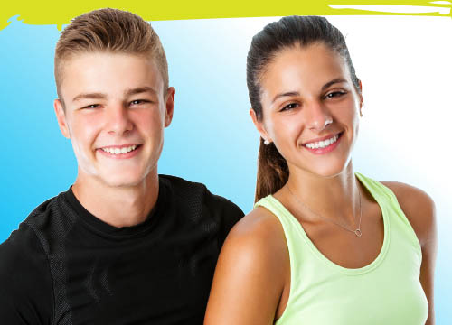 fitness classes for 11-13 year olds