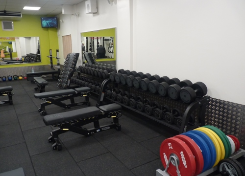 New gym at Queensway