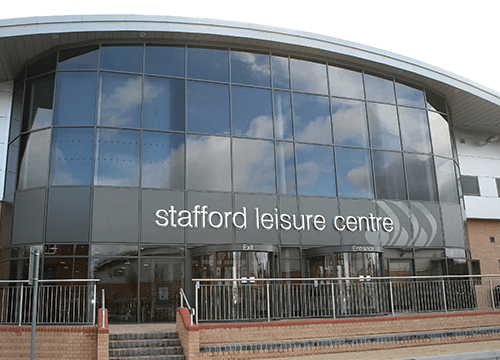 Image of Stafford Leisure Centre